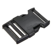 Großhandel 5 stücke 10 stücke boucles plastiques clips paracord gießen sangle fermoir armband paracorde noir 38mm
