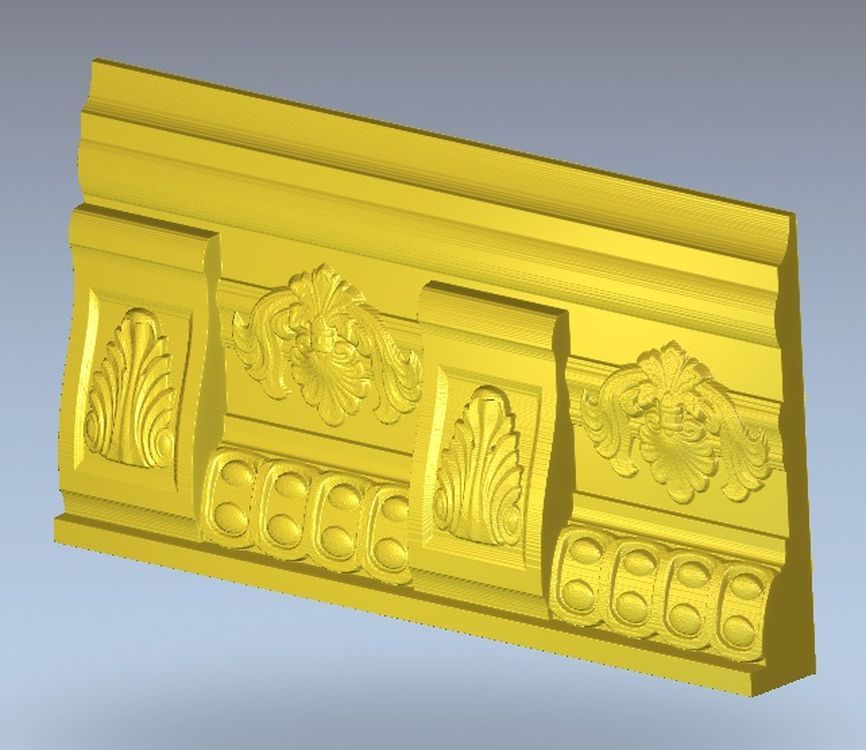 3d model relief  for cnc in STL file format Meandr_15 locket 16 for cnc in stl file format 3d model relief