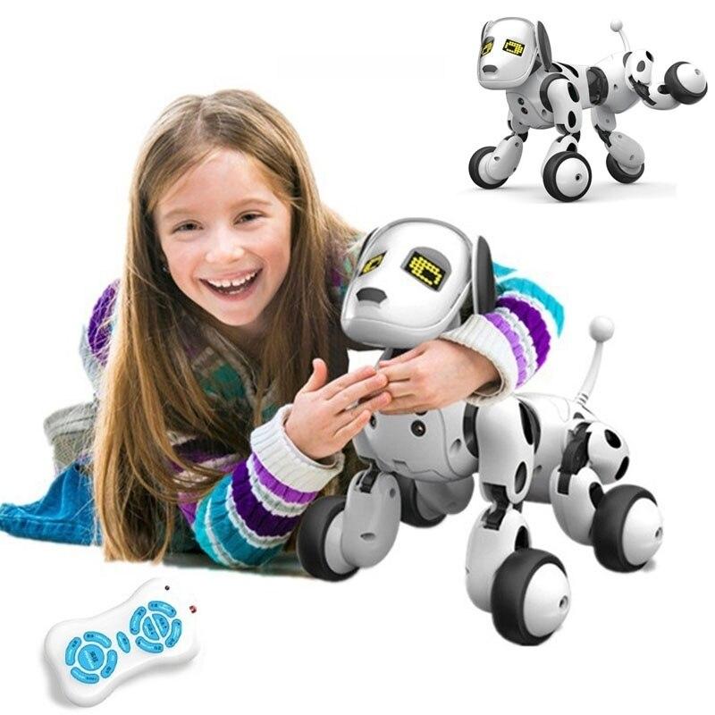 Intelligent Télécommande Chien Chant et Danse Robot Chien Électronique Animal Intelligent L'éducation Jouet pour les Enfants Cadeau D'anniversaire Cadeau - 2