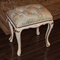 Французский провинциальный мебель для дома-Фабрики Китая оптом Лучшая цена рука барокко резной лист позолота туалетный стул