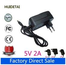 5 V 2A 2000mA Cargador de Pared Adaptador de corriente de Alimentación para Huawei Mediapad 7 Ideos S7, S7 Delgado, S7-301U, S7-301W, Tableta S7-301C