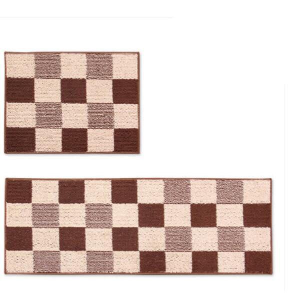 2pcs Set Modern Simple Kitchen Carpet Bedroom Living Room Decorative Floor Carpets Bedside Mats Soft Yoga Mat In From Home Garden On