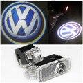 2 x led proyector luz de advertencia puerta con vw insignia para volkswagen vw passat b5 b5.5
