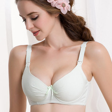 Sexy Maternity Nursing Bra Cotton Padded Push Up Breast Feeding Bras For Pregnant Women Pregnancy Intimate Lingerie  Underwear