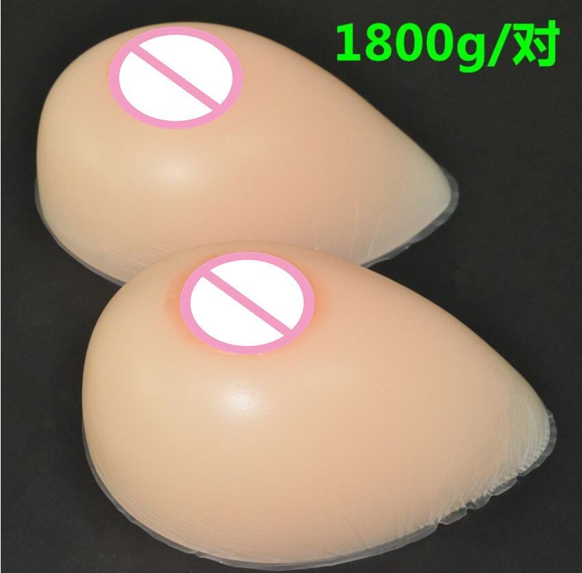 1800g/pair 42DD/44D/46C cup Silicone Breast forms Mastectomy Artificial Silicone Fake Breast For Crossdressers And Transvestites1800g/pair 42DD/44D/46C cup Silicone Breast forms Mastectomy Artificial Silicone Fake Breast For Crossdressers And Transvestites