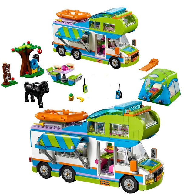 LEPIN 01062 Friends Motorhome and Campers Building Blocks Toys As Children Girls Gifts LegoINGly 41339 RV