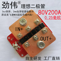 Ideal Diode 0.25 MW 80V 200A Photovoltaic Power Solar Battery and Defense Against Each Other