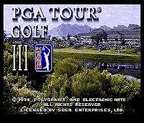 PGA Tour Golf III 16 bit MD Game Card For Sega Mega Drive For SEGA Genesis