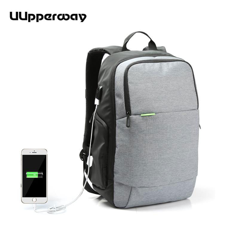Men Waterproof Backpacks Work Bolsa Mochila for Laptop 15 Inch 15.6 Women Notebook Computer Bags Male USB School Rucksack Black стоимость
