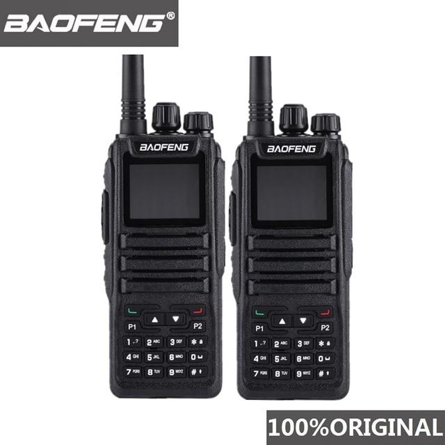 2 Stuks Baofeng DM 1701 Walkie Talkie Lange Afstand Dmr Tier I & Ii Dual Time Slot Dual Band Digitale Ham radio Telsiz Baofeng Dm 1701