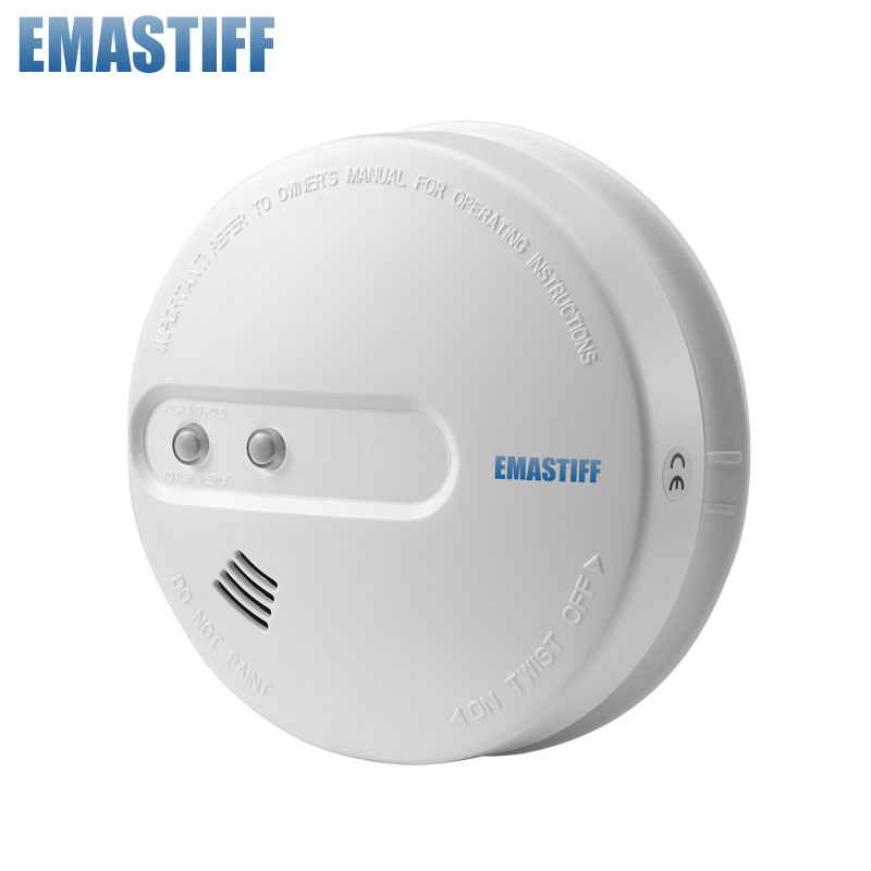 Free Shipping! HOT sale!!!1 pcs Wireless Smoke detector for Smart Home Automation, Home security and Alarm  wireless call system for nursing home for quick service with personalized cann button and led display hot sale shipping free