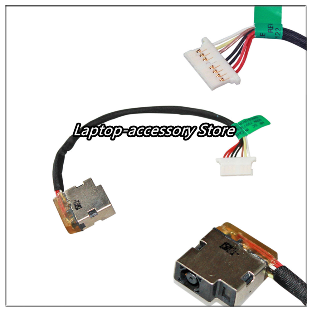 For HP ProBook 430 440 450 455 470 G3 DC Power Jack Cable - 827039-001 804187-S17 804187-F17 804187-Y17 / Free Shipping