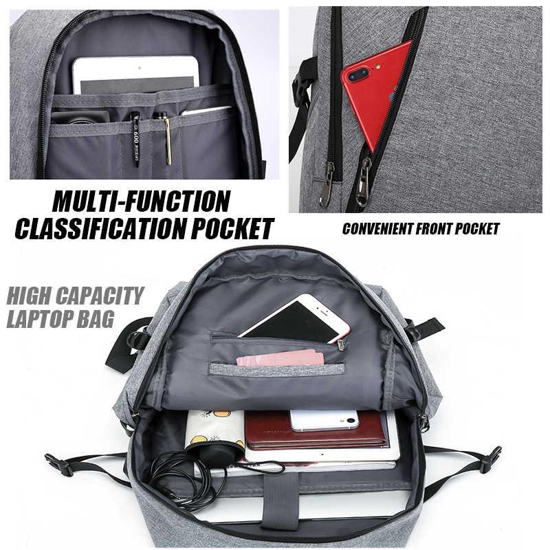 "MARKROYAL Anti-thief Laptop Backpack Male Usb Charging Daypacks Waterproof 15.6"" Notebook Backpack School Student Bag For IPAD"
