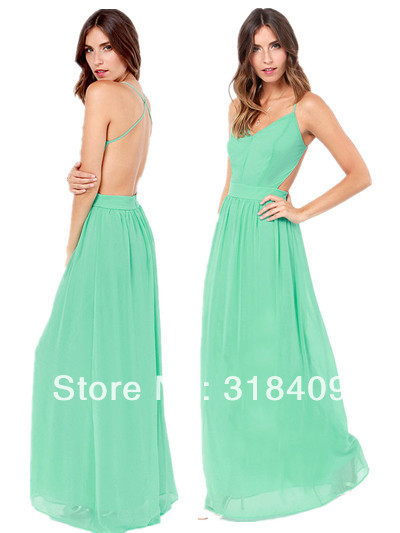 Exclusive Rooftop Garden Party and Club Clothing Chiffon Backless ...