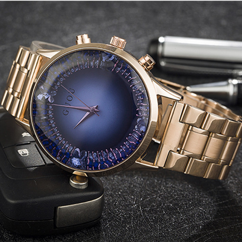 GUOU Luxury Gold Watch Women Watches Fashion Diamond Women's Watches Ladies Watch Clock bayan saat bayan kol saati reloj mujer coccodrillo coccodrillo лонгслив светло серый меланж