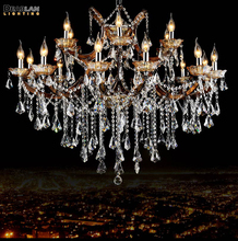 Large Crystal Chandelier Lighting Big Cristal Lustres Light Fixture for Hotel Project MD8662