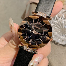Luxury Brand Dimini Quartz Women Watches Fashion Casual Ladies Watch Woman Elegant Starry Sky Dial Watch Clock Gift reloj mujer