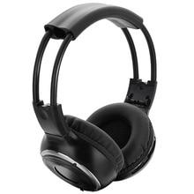Nuevo auricular infrarrojo ir, auriculares estéreo inalámbricos para coche, auriculares de doble canal compatibles con la mayoría de dispositivos de Audio
