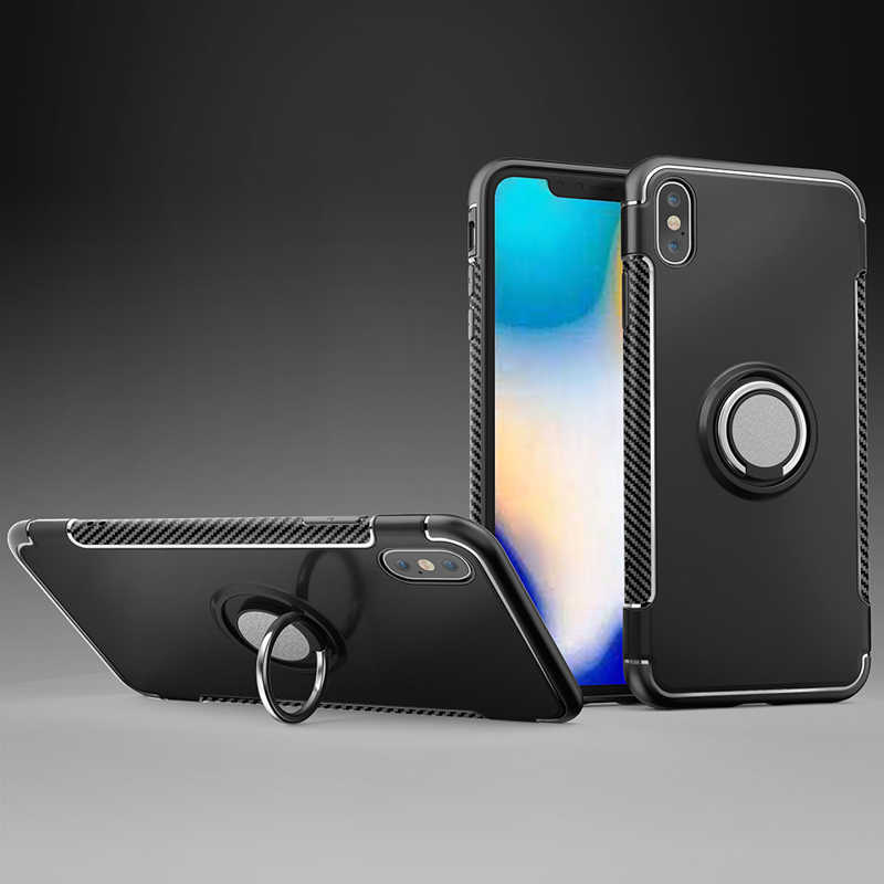 Vanveet Cases For iPhone XS XR Max 7 6 6s Case iPhone 5 5S 6C SE 8 X Cover Car Magnet Anti-knock For iPhone 6 6s 7 8 plus Coque