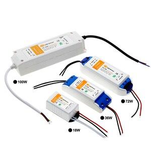 Image 5 - Led照明トランスフォーマーDC12V 18ワット36ワット72ワット100ワット高品質安全ドライバledストリップ電源供給