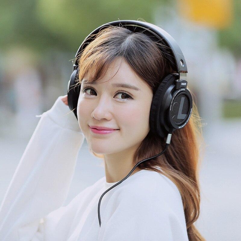 Оригинальные Наушники Philips SHP9500 HIFI, проводные, съемные, 3 м, кабель, гарнитура для Huawei Xiaomi Samsung, ноутбука, поддержка официального тестирования - 5