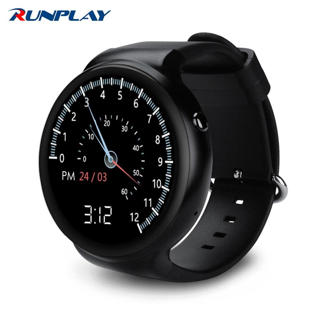 Runplay vs115 smart watch android 5.1 os 1 gb ram 16 gb rom wifi 3g gps pulsómet