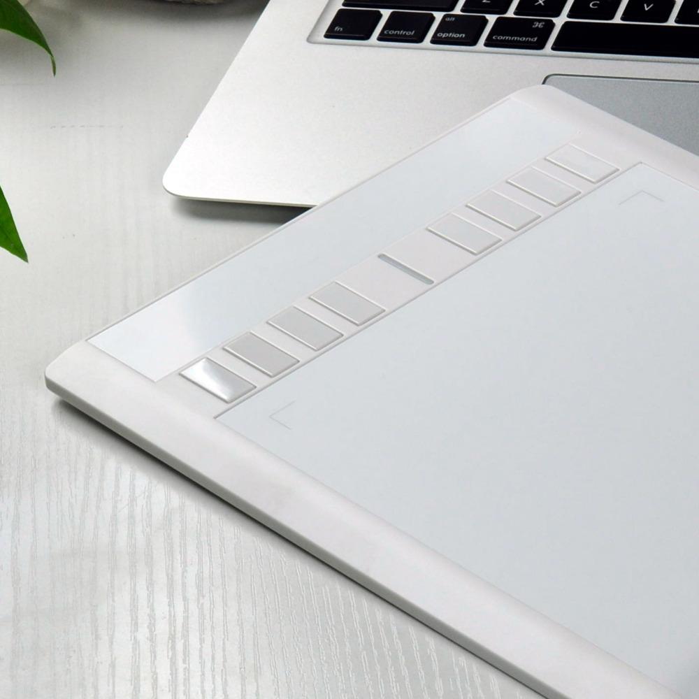 Prix pour Numérique comprimés graphique dessin tablet ugee m708 10*6 pouces avec sans fil stylo livraison gratuite
