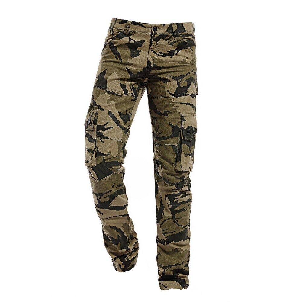 2017 Mens Cargo Pants Men camouflage pants fashion Multi-Pocket Casual Trousers male army tactical pants  XXXL pantalon homme