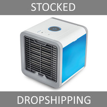 Artic Air Cooler  Small Air Conditioning Appliances Mini Fans Air Cooling Fan Summer Portable Strong Wind Air Conditioning