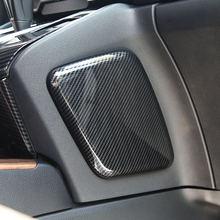 Для honda cr v crv 2017 2018 Авто abs углеродное волокно левая