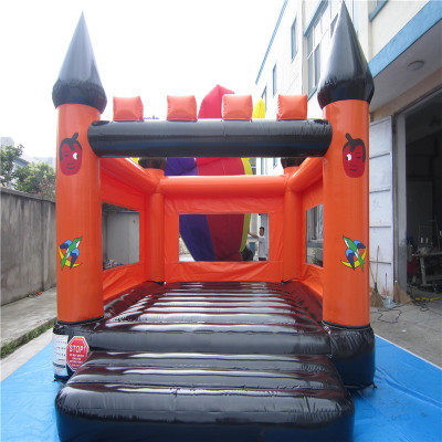 Inflatable trampoline castle Small children s inflatable font b bouncer b font trampoline slide with CE