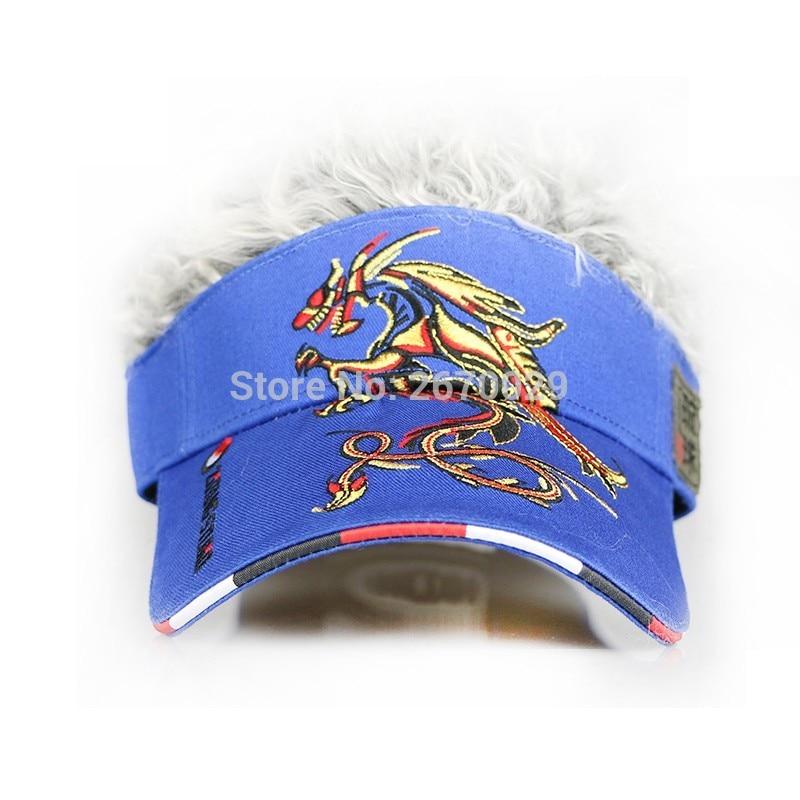 Gorra de golf para hombre Dragón Falso Sombrero para el cabello, - Ropa deportiva y accesorios - foto 3