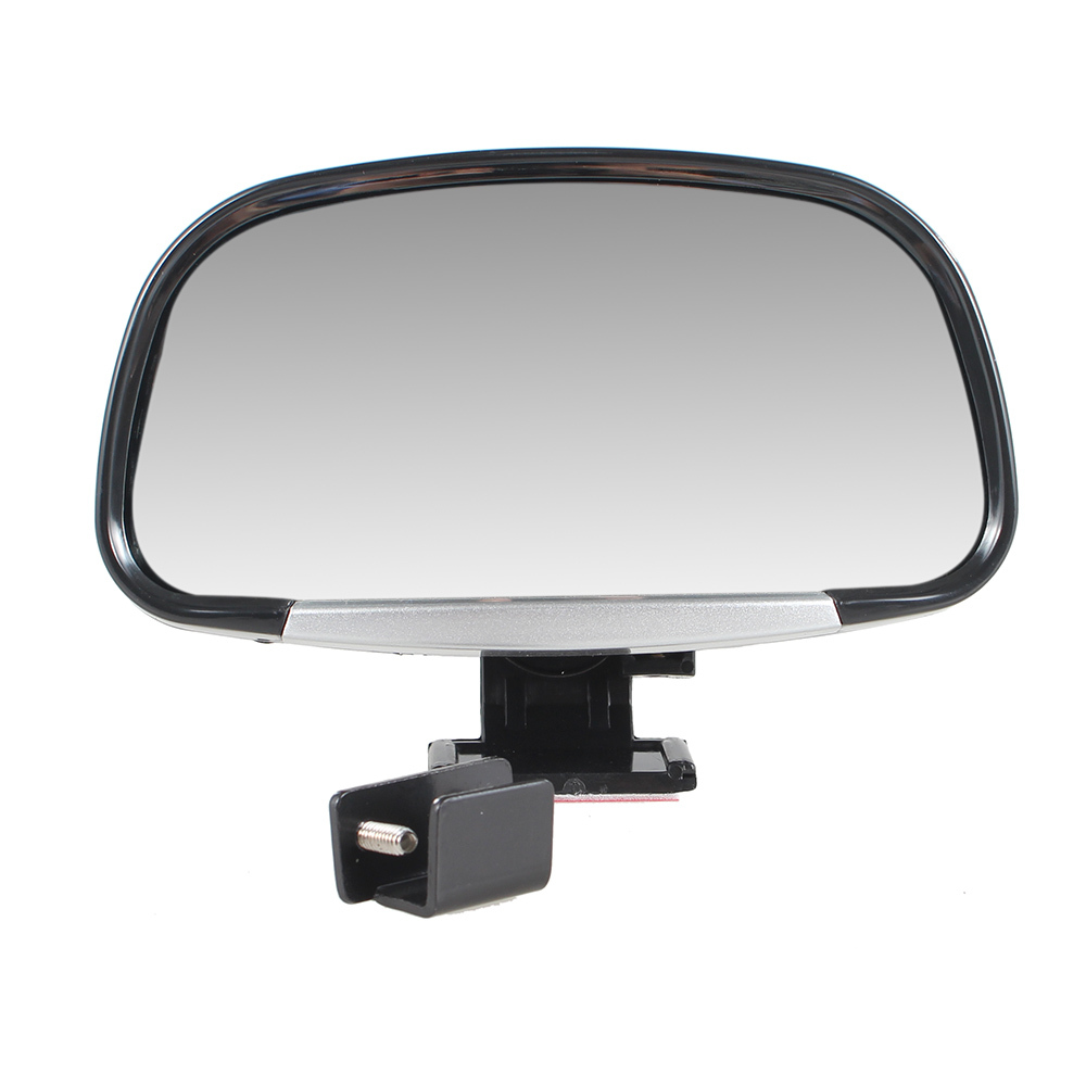 2pcs Vehicle Universal Wide Angle RearView Mirrors Car Side Blindspot Blind Spot Mirror Square SideView Flat Mirror