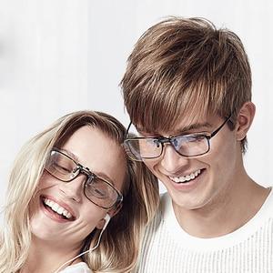 Image 5 - Youpin TS 35% Anti blue rays Clip Sunglasses Clip For Glasses TAC Lens 10g Zinc alloy 110 Degree random upturn Eye Protector