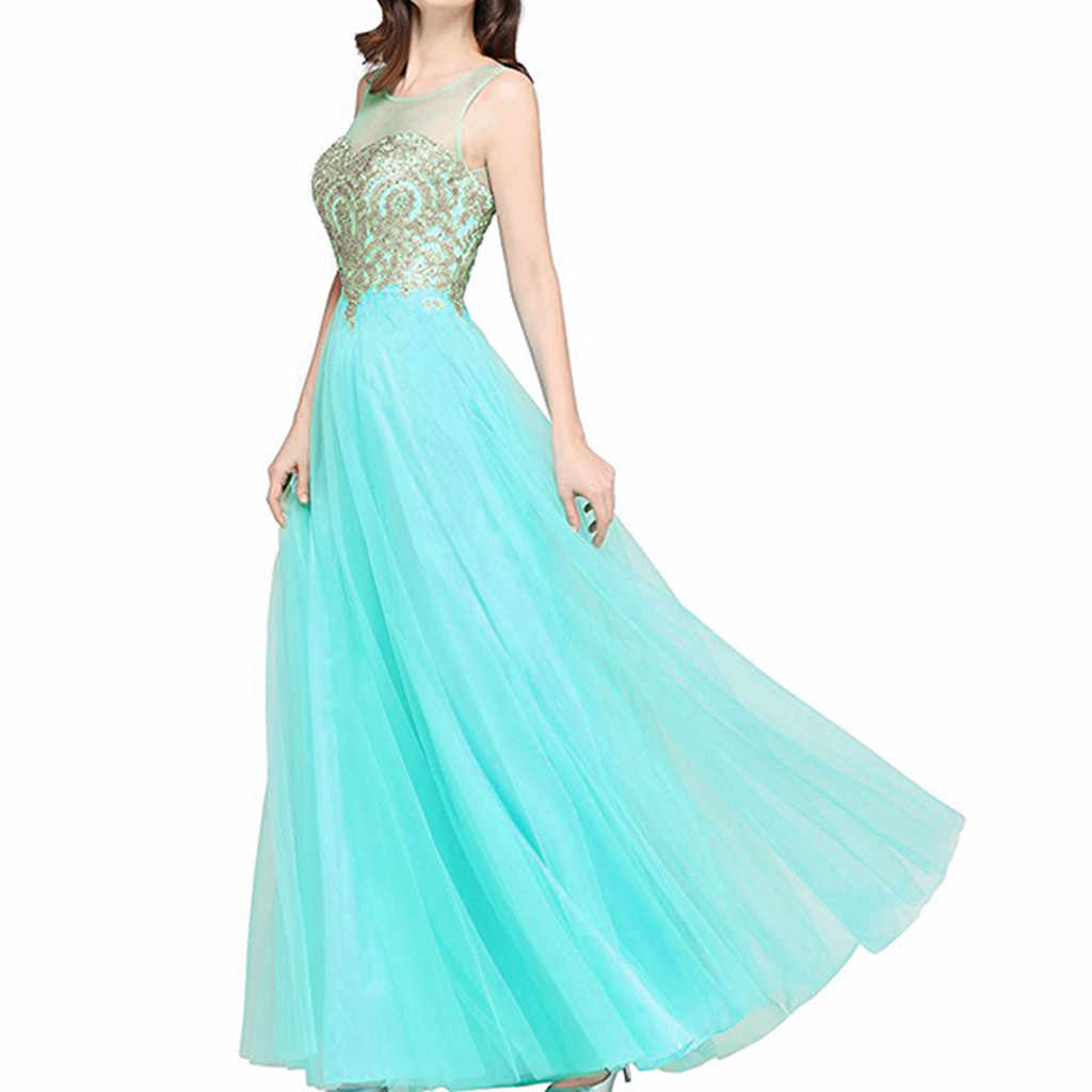Dress Women Summer Long Party Wending Dress Formal Party Ball Gown Bridesmaid Mermaid Beaded Chiffon Party Dresses