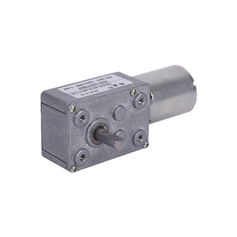 3247GW Worm gear motor 12V24V CW CCW speed motor GW370 micro DC gear motor in DC Motor from Home Improvement