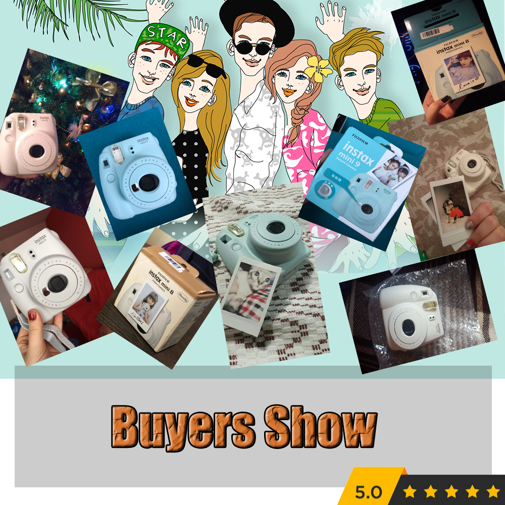 5 Colors Fujifilm Instax Mini 9 Instant Camera Photo 13 In 1 8s One Piece Kit Video Bag Case Protector Filter Album Sticker Other Film From Consumer