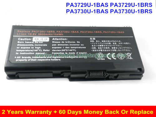 PA3729U-1BRS Battery for Toshiba Satellite P505 Satellite P505D PA3729U Laptop battery 8800mAh slik u 8800