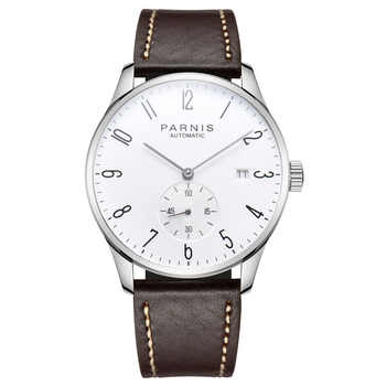 Parnis Mechanical Watches Diver Minimalist Watch for Men Wristwatch Luxury Waterproof Automatic hombre Relogio Masculino 2019 - DISCOUNT ITEM  10% OFF All Category