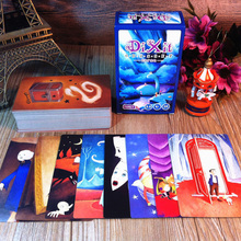 "Hot sale ""DIXIT"" Expansion Version Illustration ,110 PCS Cards Educational Cards Game For Family Board Game With Free Shipping"