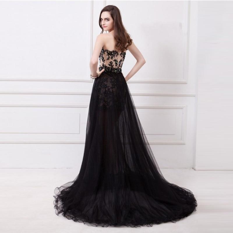 Lady Femmes Robe Sexy Bal Fille Princesse De Parti D'honneur Longueur New Étage Demoiselle Banquet Black 6xqWngYIT