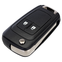 Modified Replacement Remote Case Fob Cover Flip Folding Key Shell Blank For Chevrolet Epica Lova