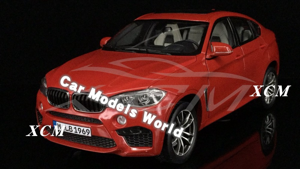 Diecast Car Model for X6M 1 18 Red SMALL GIFT