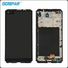 Negro Para LG V20 VS995 VS996 LS997 H910 H918 Pantalla LCD Digitalizador de Pantalla Táctil con el Marco Del Bisel Reemplazo del Conjunto Completo