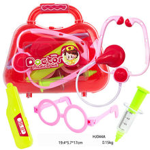 High Quality Kids Baby Doctor Medical Play Carry Set Case Education Role Play Toy Great Gifts for Baby Kids Free Shipping, GU30(China)
