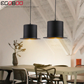 NEW Style Simple creative retro industrial wind gentleman  hat restaurant pendant lamp bar room hall chandelier