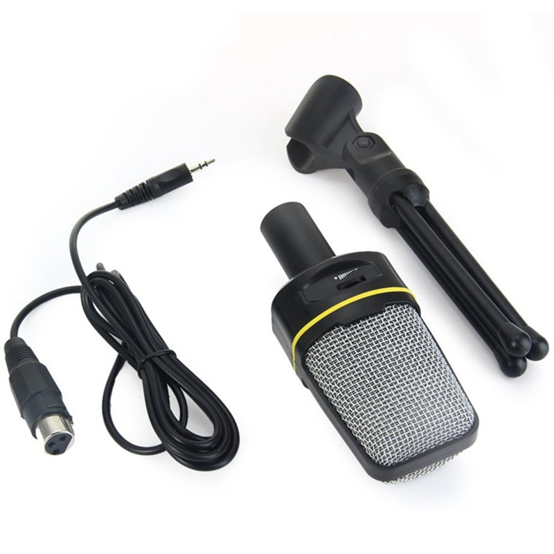 Stand-Holder Singing Sound-Microphone Chatting Unidirectional SF-920 with for PC Laptop