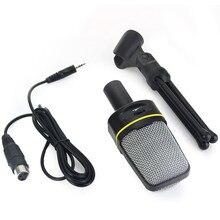 SF 920 Professionelle Unidirektionale Sound Mikrofon mit Ständer Halter für PC Laptop Unterstützung Singen und Chat