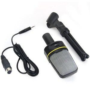 Image 1 - SF 920 מקצועי חד כיווני קול מיקרופון עם Stand מחזיק עבור מחשב נייד תמיכה שירה ומשוחח