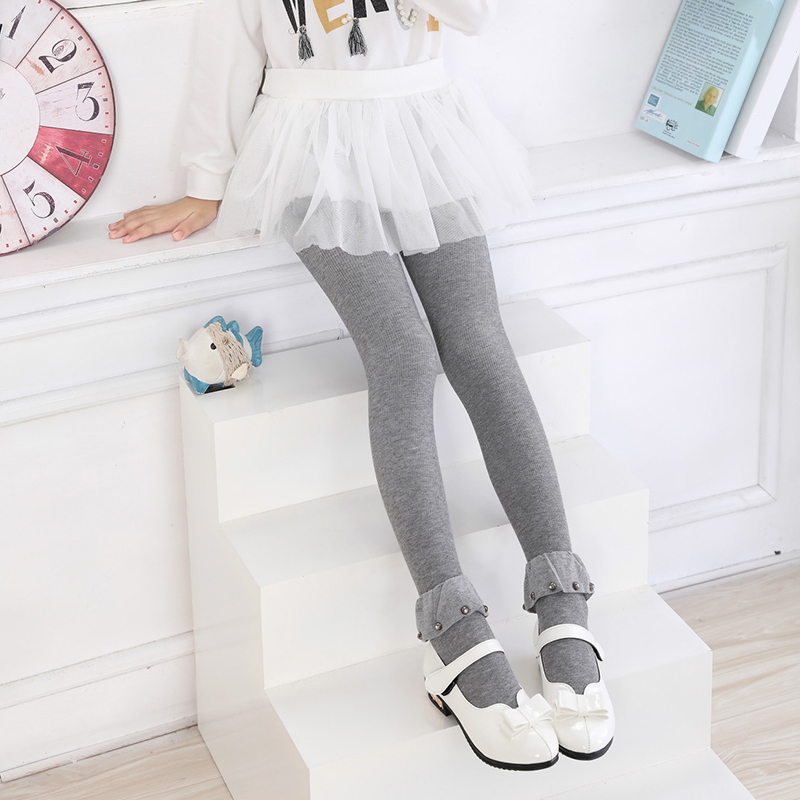 Toddler Baby Kids Girls Cotton Tights Socks Stockings Pants Hosiery Pantyhose ...